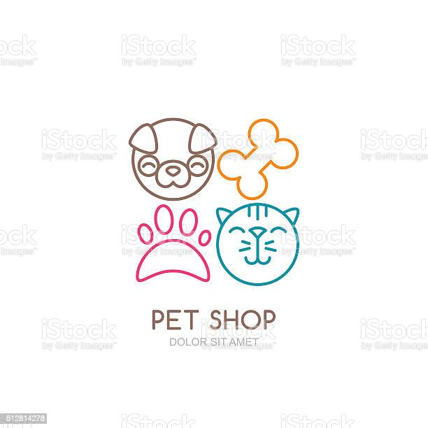 Vector line art illustration of dog head and cat muzzle vector id512814278?b=1&k=6&m=512814278&s=612x612&h=b8ynqn4nup1eksk7bvhhxsupfsvsmndjahbrl3zidmg=