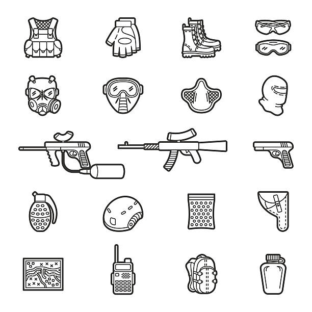 Best Gun Holster Illustrations, Royalty-Free Vector Graphics & Clip