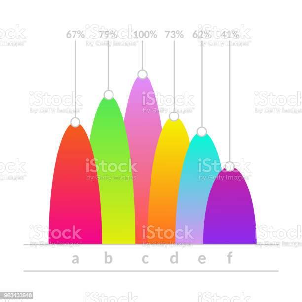 Ikona Liniowego Wykresu Liniowego Wykresu Liniowego Wektorowego - Stockowe grafiki wektorowe i więcej obrazów Abstrakcja