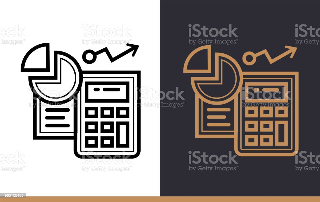Vector linear icons ACCOUNTING of finance, banking. High quality modern icons suitable for print, website and presentation vector linear icons accounting of finance banking high quality modern icons suitable for print website and presentation - stockowe grafiki wektorowe i więcej obrazów bankowość royalty-free