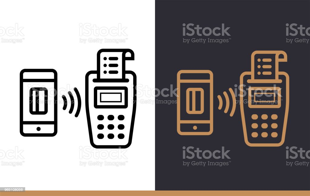 Vector linear icons POS TERMINAL of finance, banking. High quality modern icons suitable for print, website and presentation vector linear icons pos terminal of finance banking high quality modern icons suitable for print website and presentation - stockowe grafiki wektorowe i więcej obrazów bankowość royalty-free