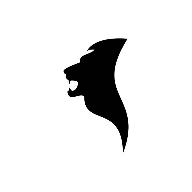Best Cartoon Of The Lion Logo Design Illustrations, Royalty