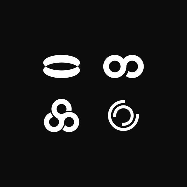 ilustrações de stock, clip art, desenhos animados e ícones de vector logo circular economy - economia circular