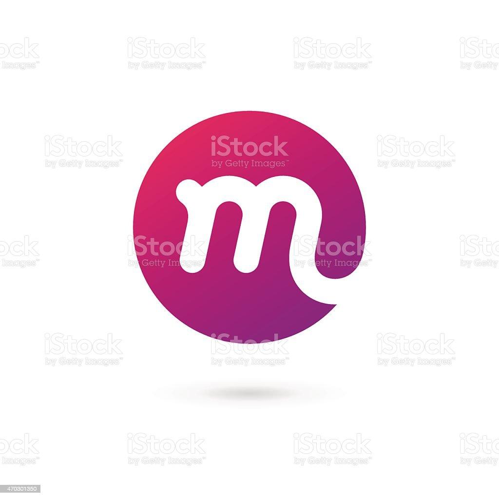 A Vector Logo Design Containing The Letter M Stock Vector Art & More ...