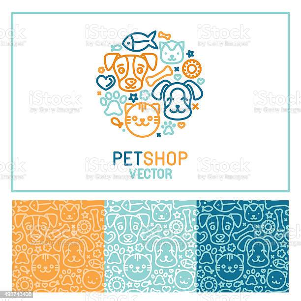 Vector logo design template for pet shops vector id493743408?b=1&k=6&m=493743408&s=612x612&h=4fdmpgnh81l iowf4qgoqt4a mmhsqvjhkyritsepts=