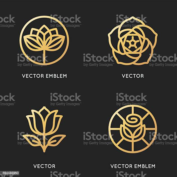Vector logo design templates and signs in trendy linear style vector id594446950?b=1&k=6&m=594446950&s=612x612&h=647 xtcplevgve072aiap9ryop9for8nqxct4t9fl4s=