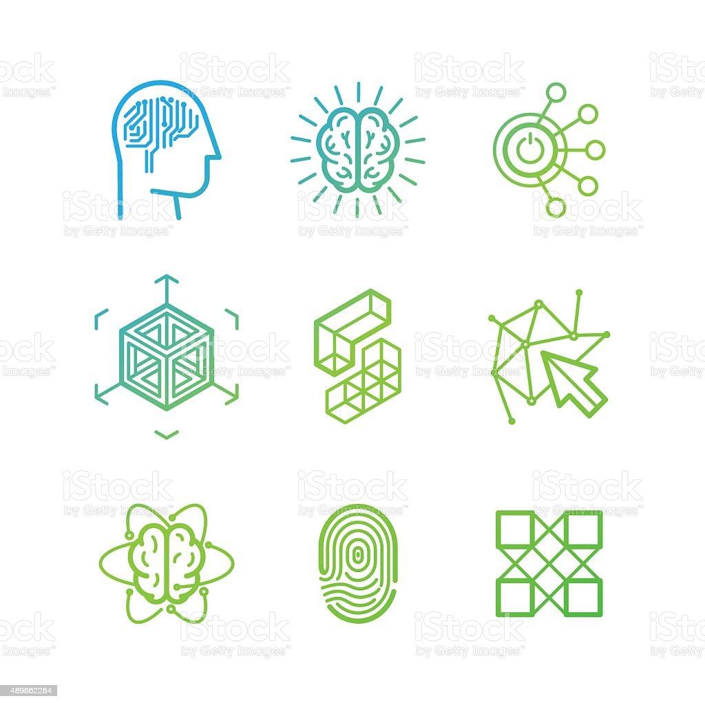 Vector Logo Design Templates Stock Vector Art More Images Of - Logo creator templates
