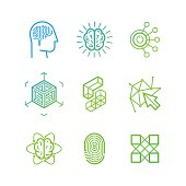 Vector logo design templates