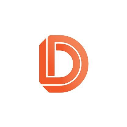 Vector Logo Letter D