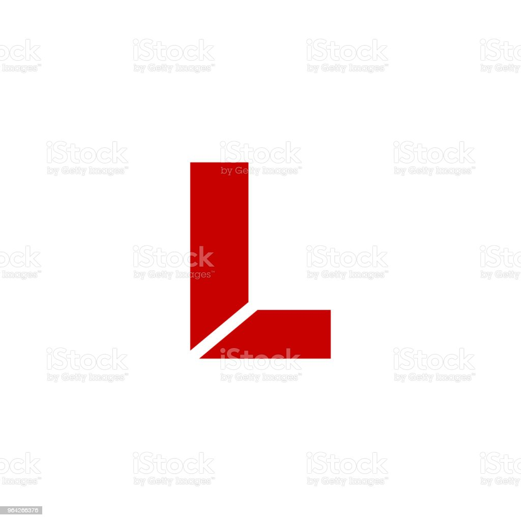 Vector Logo Letter L vector art illustration