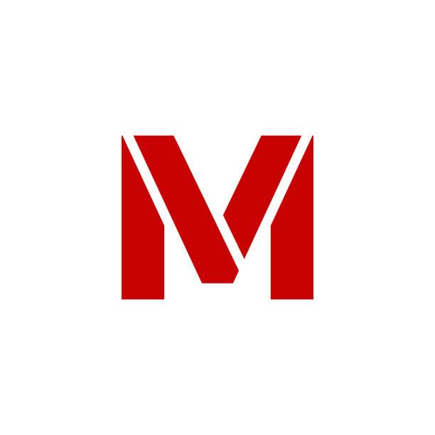 lettre majuscule m vectoriels et illustrations libres de