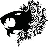Vector Logo Lion Head