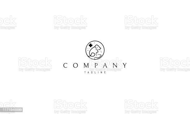 Vector logo on which an abstract image of a cat and a dog in the of vector id1171545599?b=1&k=6&m=1171545599&s=612x612&h=icnfp4qgmrbfk2kjzltmpj89py22x449s6xq9oyv0ui=