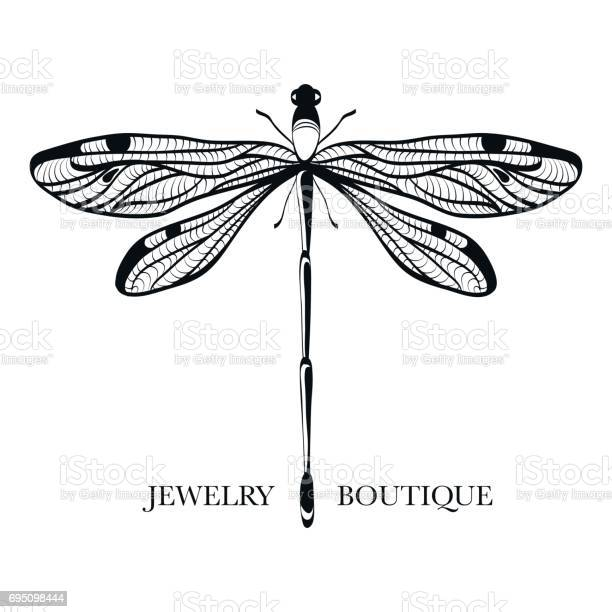 Vector logotype for jewelry boutique store shop elegant dragonfly at vector id695098444?b=1&k=6&m=695098444&s=612x612&h=kmbn1vcwu dgivr7ixx02psaxxtnl35vf8ufmv0uhgg=