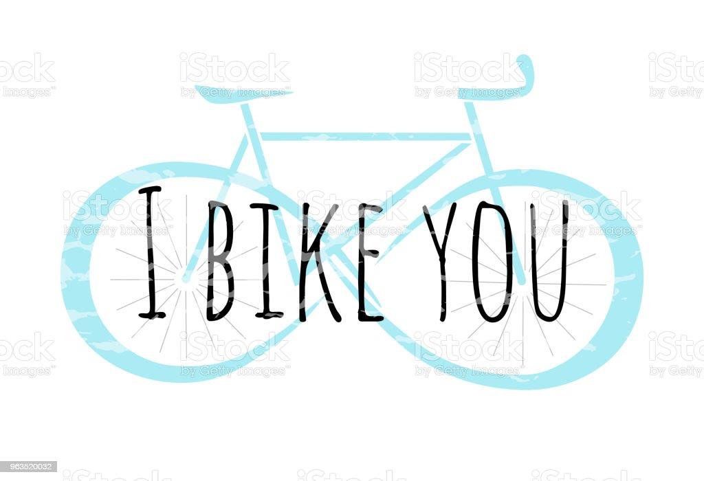 Logo Vectoriel De Bicyclette Avec Infinity Signer Sur Ses Roues Silhouette Moto Style