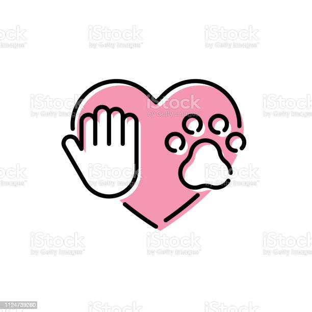 Vector love my pet logo icon template vector id1124739260?b=1&k=6&m=1124739260&s=612x612&h=7ateofh7p5v iobvwf1wnonzosyg jhwtbnczgygpi4=