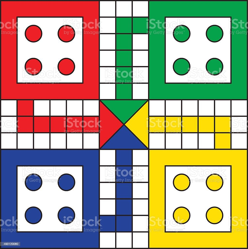 Vector Ludo Game Board Stock Vector Art & More Images of ...