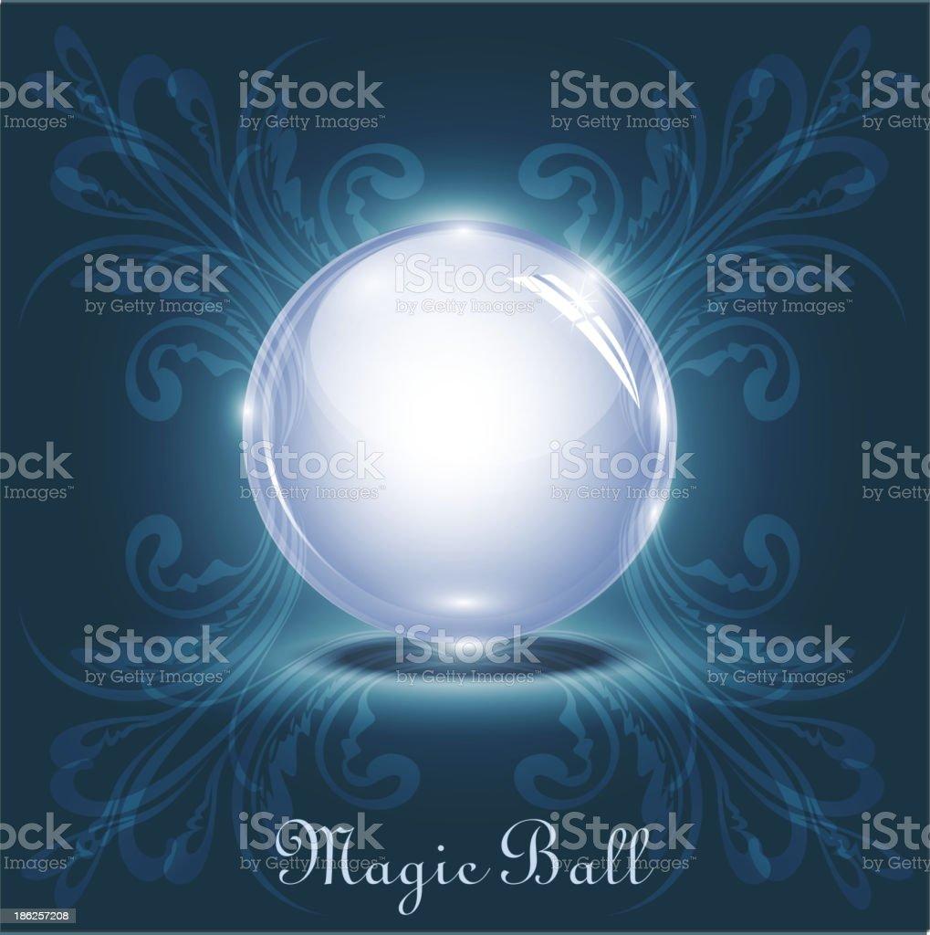 vector magic ball royalty-free stock vector art