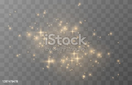 Vector magic glow. Sparkling light, sparkle sparkle Sparkling dust png. Sparkling magical dust. Christmas light. Vector.