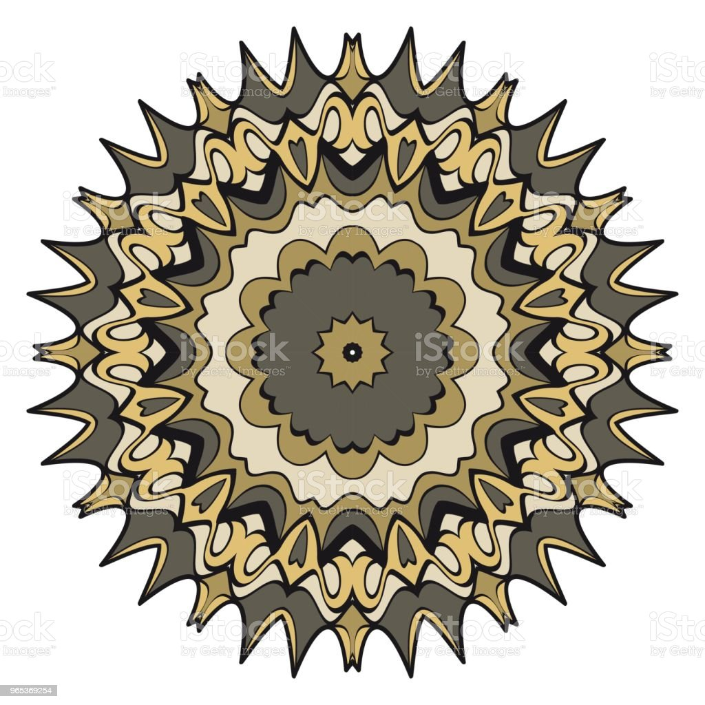 Vector mandala, Floral mandala. Oriental mandala. Vintage decorative elements. Vector illustration. It is super vector illustration. royalty-free vector mandala floral mandala oriental mandala vintage decorative elements vector illustration it is super vector illustration stock vector art & more images of abstract