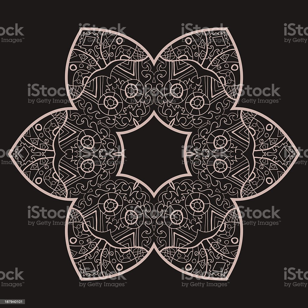 vector mandala royalty-free vector mandala stock vector art & more images of art and craft