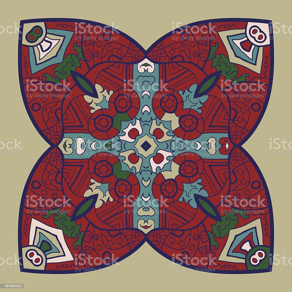 vector mandala royalty-free stock vector art