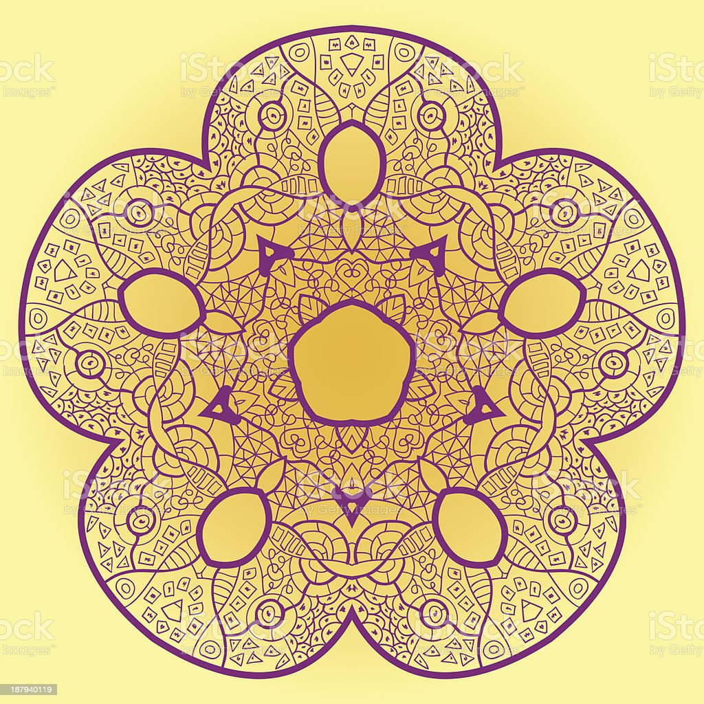 vector mandala royalty-free stock vector art