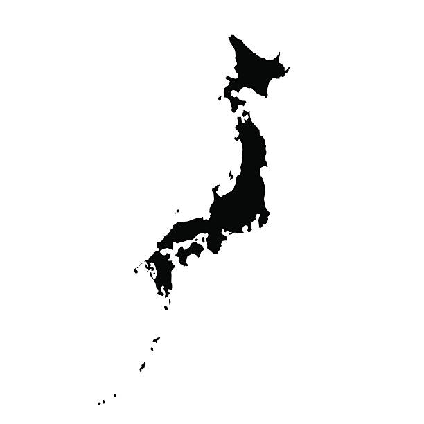 Japan Clip Art Vector Images Illustrations IStock - Japan map vector art