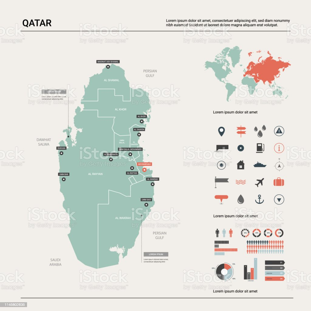 Vector Map Of Qatar High Detailed Country Map With Division ... on italy map area, algeria map area, cape verde map area, jamaica map area, bangladesh map area, kuwait map area, lebanon map area, puerto rico map area, palestine map area, egypt map area, rwanda map area, syria map area, middle east map area, iceland map area, haiti map area, japan map area, albania map area, asia map area, cayman islands map area, saudi arabia map area,