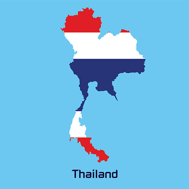 Royalty Free Thailand Vector Map Clip Art, Vector Images ...