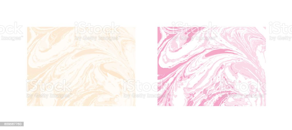 Vector marble abstract background. Liquid marble pattern. Trendy template vector art illustration