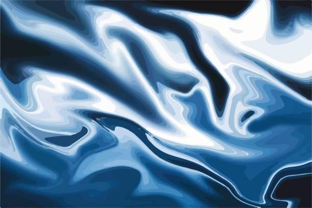 vektor-marmor mit blauem hintergrund. marmor mit rose bunte textur. trendige vorlage für design, party, geburtstag, hochzeit, einladung, karte, banner, web. - granitplatten stock-grafiken, -clipart, -cartoons und -symbole