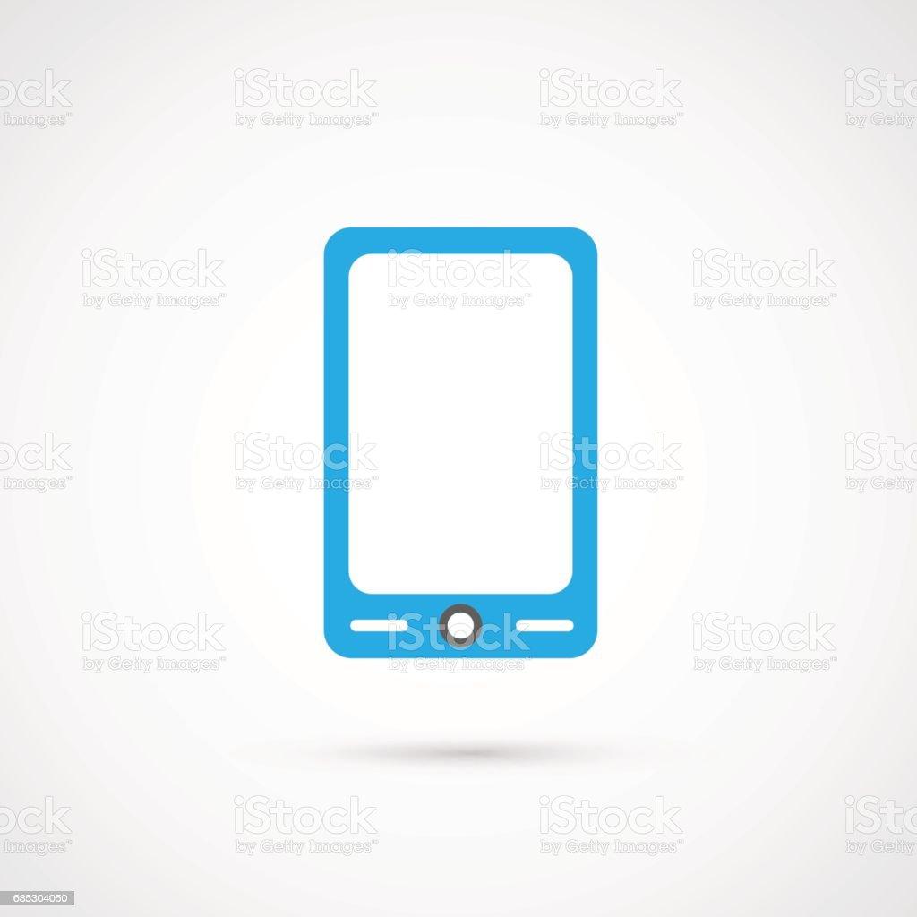 Vector Media Icon - Smart Phone vector media icon smart phone - arte vetorial de stock e mais imagens de comunicação royalty-free