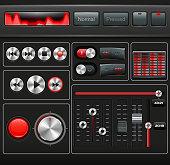 Vector Media User Interface