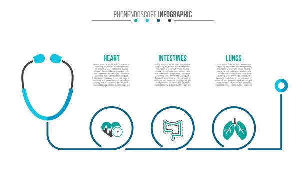 ilustraciones, imágenes clip art, dibujos animados e iconos de stock de vector infografía médico y de salud. - infografías de medicina