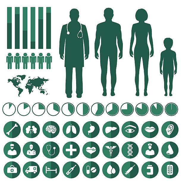 vector medical infographic, vector art illustration