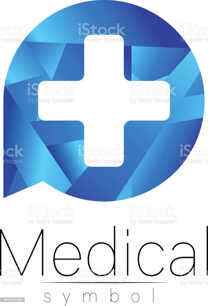 Vector Medical Sign With Cross Symbol For Doctors Website Visit Card