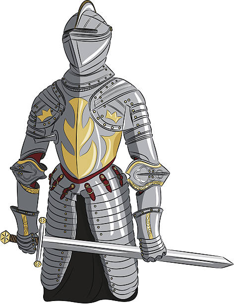 Best Knights In Armor Illustrations, Royalty-Free Vector ...