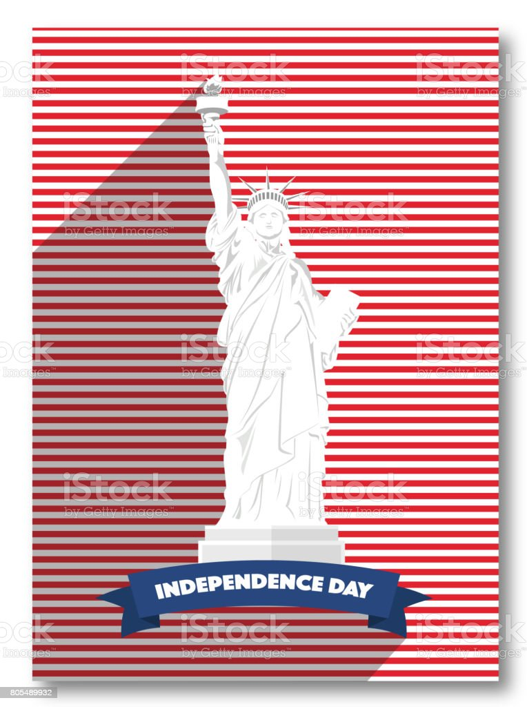 picture regarding Closed for Memorial Day Printable Sign referred to as Vector Memorial Working day United states of america Poster Flexibility Working day Card Statue