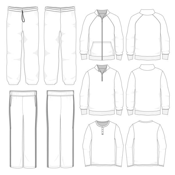Best Tracksuit Illustrations, Royalty-Free Vector Graphics