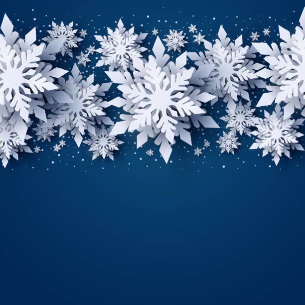 ilustrações, clipart, desenhos animados e ícones de bandeira de vector feliz natal e feliz ano novo - inverno