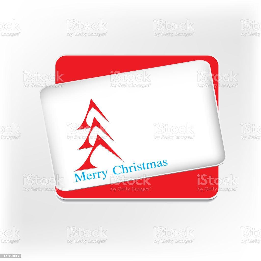 Vector Merry Christmas Frame Illustration Stock Vector Art & More ...