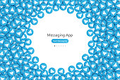 Vector Messaging App UI Design