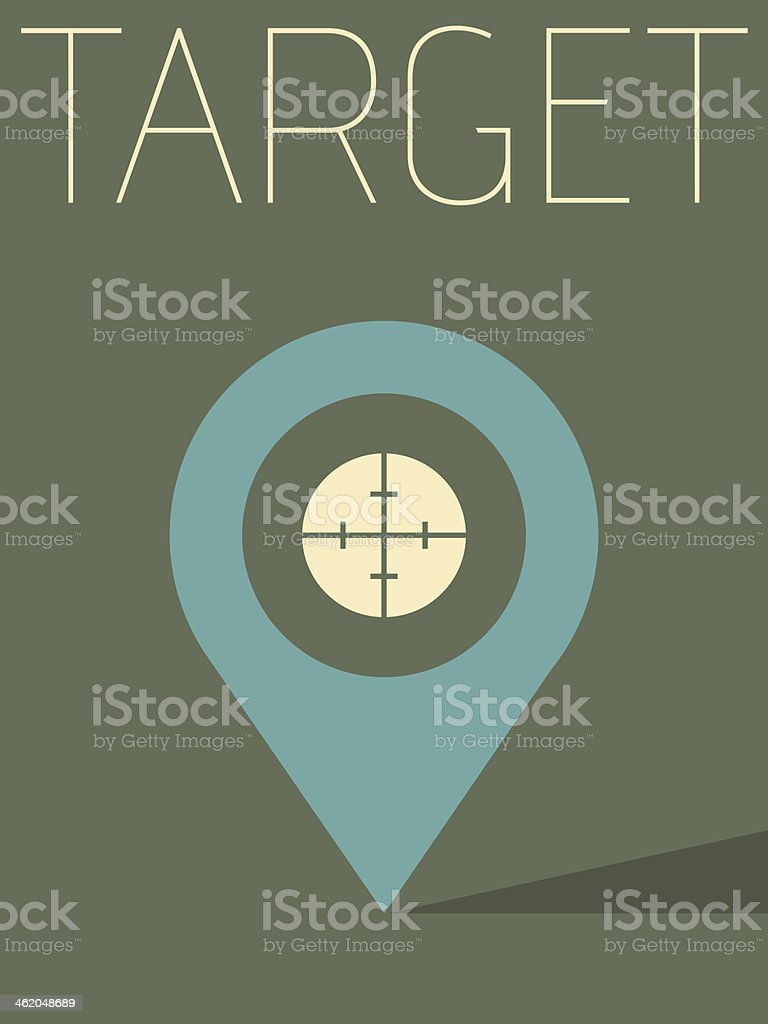 Vector Minimal Design - Target royalty-free vector minimal design target stock vector art & more images of abstract