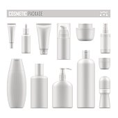Vector mockup for cosmetic product