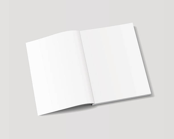 vector mockup magazine - composition notebook cover stock illustrations, clip art, cartoons, & icons