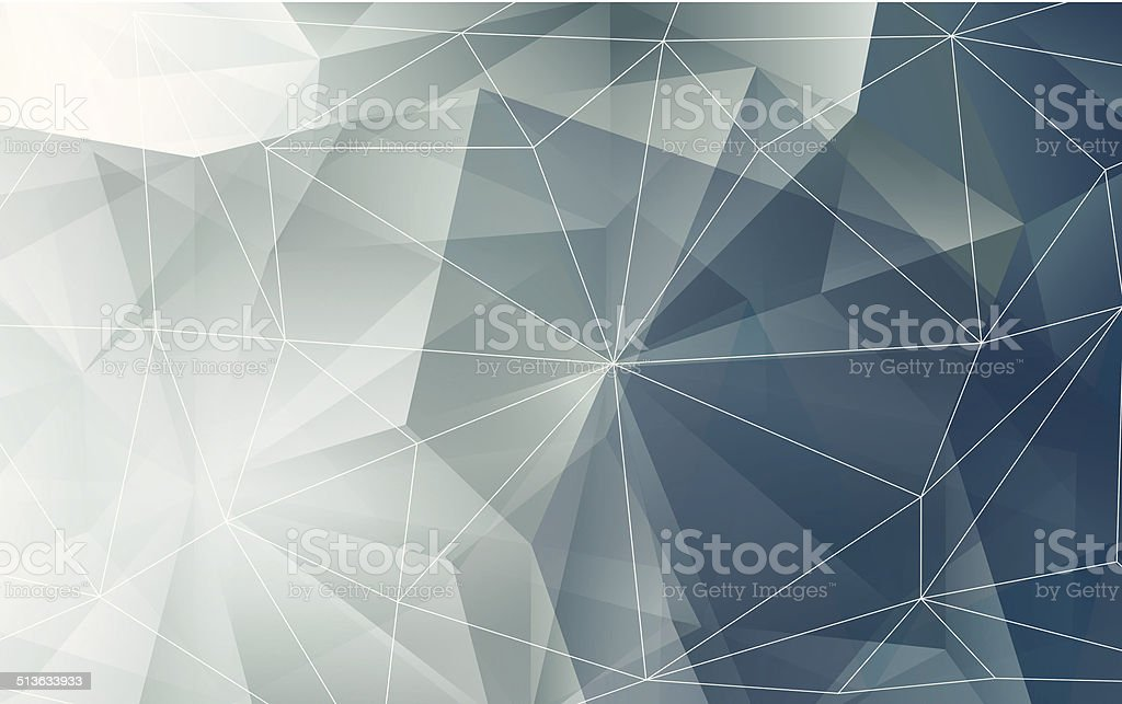 Vector modern abstract polygonal texture or background vector art illustration