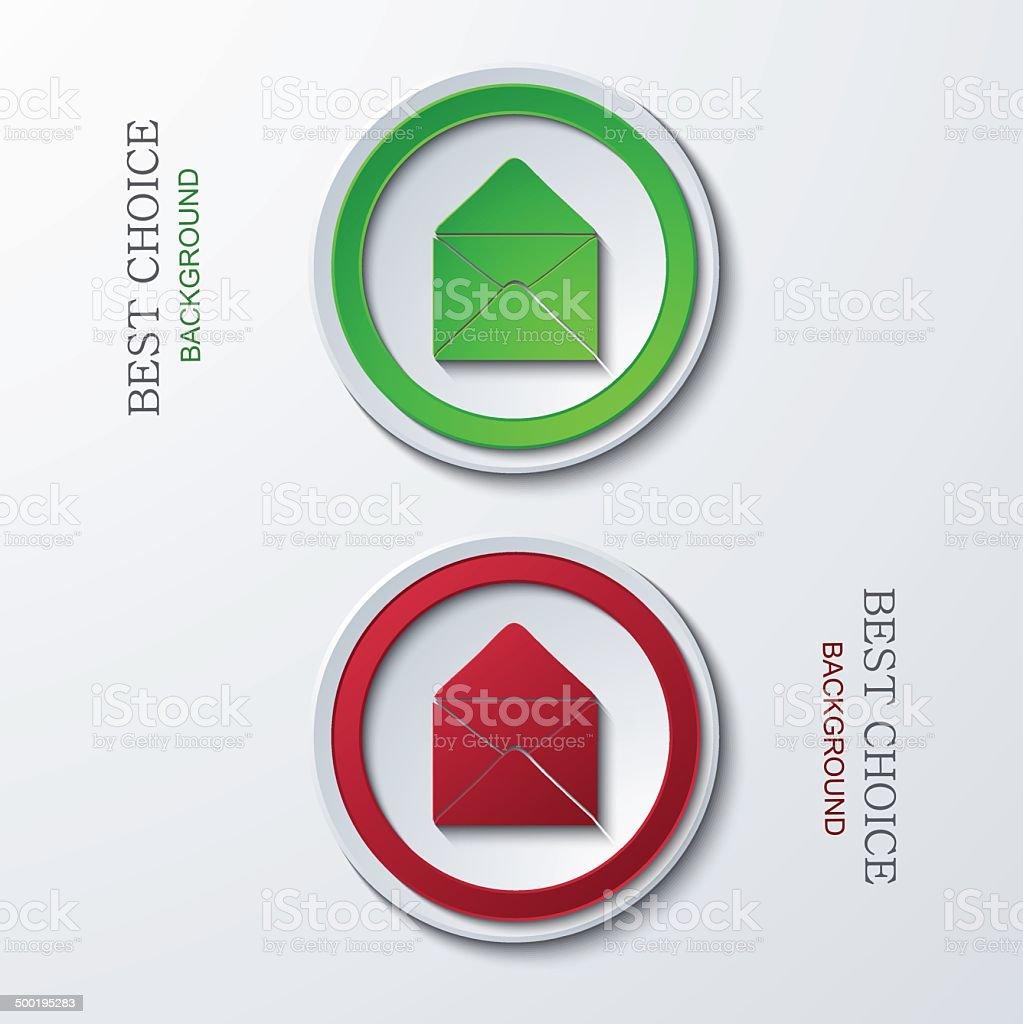 Vector modern circle icons royalty-free stock vector art