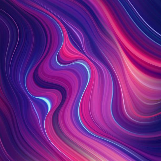ilustrações de stock, clip art, desenhos animados e ícones de vector modern colorful flow background. wave color liquid shape. abstract design. - imagem a cores