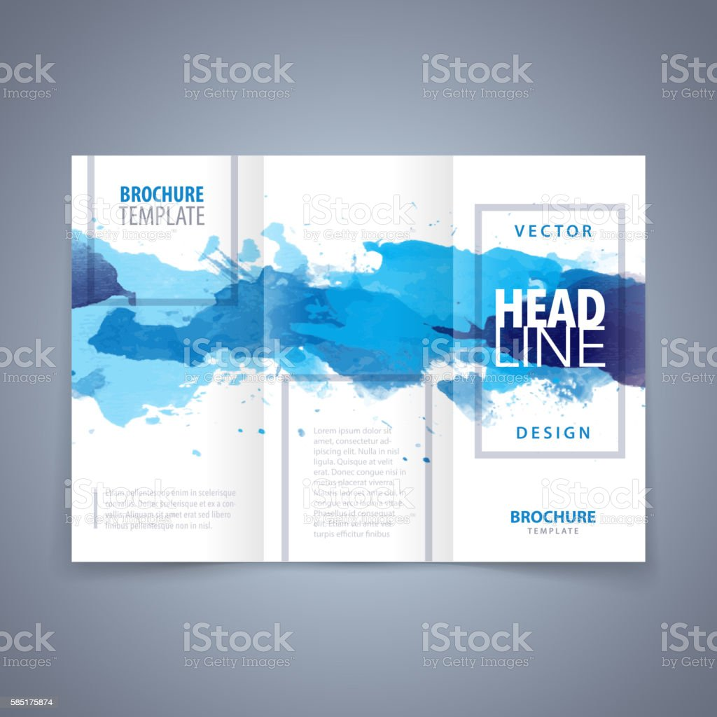 Vector Modern Flyer Template Stock Vector Art More Images Of